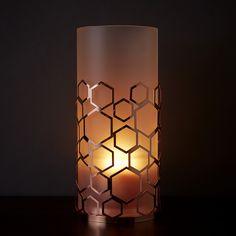 Lampe-tempête Nid d'abeille
