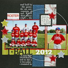 T-Ball 2012 - Scrapbook.com