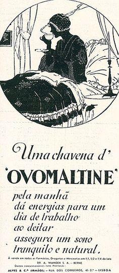 Ovomaltine    #thaifernandes, #thaisafernandes, #advertingvintage, #vintage
