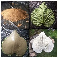 Art and decoration with cement. Look at these ideas are brilliant - Trends Garden Decorations Cement Art, Concrete Art, Concrete Garden, Concrete Planters, Concrete Crafts, Concrete Projects, Outdoor Projects, Garden Crafts, Diy Garden Decor