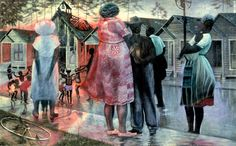 John Biggers Gastonia, NC 1924-Houston, TX 2001 Shotgun, Third Ward #1 1966 tempera and oil on canvas 30 x 48 in. Smithsonian American Art Museum