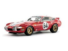 1977 Ferrari 365 GTB/4 Daytona #64 High End Newman/Minter/Robinson 1/18 by Kyosho 08165 A. 1977 Ferrari 365 GTB/4 Daytona #64 High End Newman/Minter/Robinson 1/18 by Kyosho 08165 A.