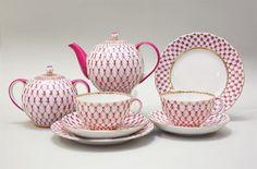 "Picture of Rose Net ""Tulip"" Tea Set for 6 (20pcs)"