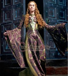 Custom-Made-Game-of-Thrones-Cersei-Lannister-Queen-Dress-Costume-Medieval-Renaissance-Ball-Gown-Halloween-Costume.jpg_640x640.jpg (573×640)