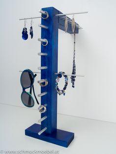 Schmuckmöbel - Cygnus Aufbewahrung für Ketten, Ringe, Ohrringe, Sonnenbrillen