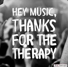 Musik ist die beste Therapie