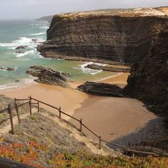 Our guide to the best beaches in Portugal from secret spots including Praia do Carvalho in the Algarve, Praia de Cavaleiro in Costa Vicentina and Ribeira das Tainhas in the Azores. Best Beaches In Portugal, Best Beaches In Europe, Hotels Portugal, Beaches In The World, Portugal Travel, Best Boutique Hotels, Best Hotels, Wales Beach, Places To Travel