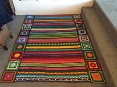 Ravelry: daniwillis' Rainbow sampler blanket