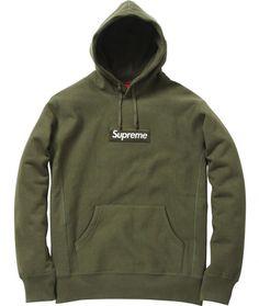 Supreme - Box Logo Pull-over Hoodie