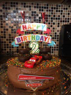 DIY easy cars cake !
