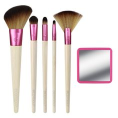 Glow For It Best Cheap Makeup, Cheap Makeup Brushes Set, Affordable Makeup Brushes, Makeup Brush Set, Makeup Kit, Fan Brush, Vegan Beauty, Concealer Brush, Eco Tools