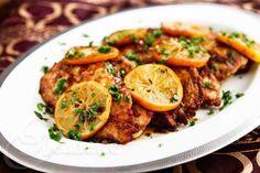 Gluten-Free Chicken Scallopine with Meyer Lemon Sauce Recipe - Jeanette's Healthy Living