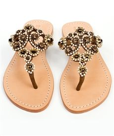 I just bought these. Flat Sandals, Leather Sandals, Mystique Sandals, Bridal Sandals, Jeweled Sandals, Glass Slipper, Cute Shoes, Fashion Shoes, Shoe Boots