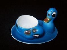 Ancien coquetier avec soucoupe et salière en forme de canards in Maison, Cuisine, arts de la table, Arts de la table | eBay