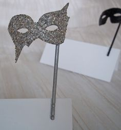 Mini Masquerade Masks Place Card and Table Decoration for Weddings Parties and Events