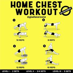 If you think that weights are the only way to develop a strong, muscular chest? Think again. You can build your chest – and your arms at the same time – without lifting a single barbell or dumbbell. Push Workout, Workout Splits, Gym Workout Tips, Toning Workouts, Workout Men, Workout Motivation, Workout Challenge, Best Core Workouts, Weight Training Workouts