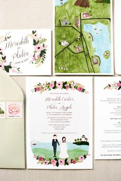 Pretty stationery we love: http://www.stylemepretty.com/vault/search/images/Stationery