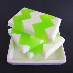 Chevron soap by Soapylove