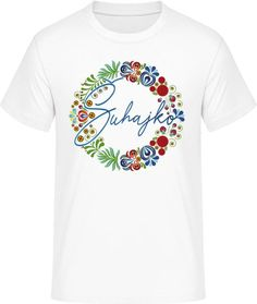 Ľudový motív Šuhajko - Pánske ľudové tričko Textiles, Mens Tops, T Shirt, Fashion, Supreme T Shirt, Moda, Tee Shirt, Fashion Styles, Fabrics