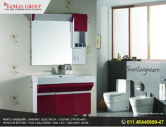 Now you can choose Sanitary ware for your home from a wide range of Collections at Taneja Group.   From Jaguar to Kohler to Parryware to any brands you name it we have it under one roof! So what are you waiting for?? Give us a call @ 011-46440000-47 & fill your home with happiness smile emoticon