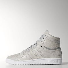 9f2eba0f6391f adidas Top Ten Hi Men s Clear Onyx Iron Adidas Basketball Shoes, Adidas  Shoes,