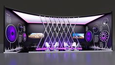 """Intiled"" company exhibition stand concept."