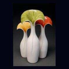 Gekleurd keramiek - Vases by Anne Gary #design