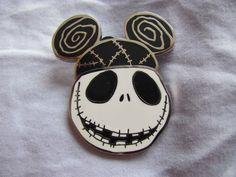 Disney Trading Pins 100928: Jack Skellington Ear Hat Pin - Tim Burton's The Nigh