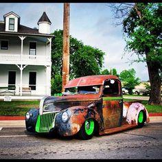 .rat rod ford truck