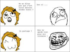 Mdr Troll Meme, Funny French, Rage Comics, Derp, Funny Moments, Laugh Out Loud, Funny Jokes, Haha, Humor