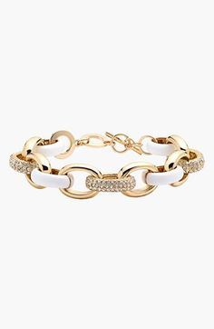 Nordstrom 'Yacht Club' Chain Link Toggle Bracelet available at #Nordstrom