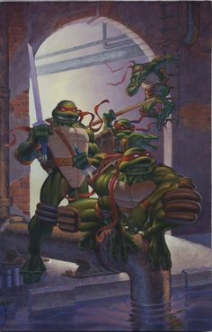 Tales of the Turtles 1 cover by *MichaelDooney on deviantART