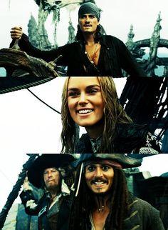 will, elizabeth, barbossa et jack