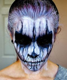 30 Scariest Halloween Makeup Ideas for Both Men & Women - Blogrope
