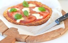 Bloemkoolpizza met Tomaat & Mozzarella