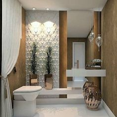 This Is How To Remodel Your Small Bathroom Efficiently, Inexpensively House Design, Interior, Bathroom Remodel Photos, Small Half Bathrooms, Diy Bathroom Remodel, Small Half Baths, Bathroom Design, Bathroom Decor, Beautiful Bathrooms