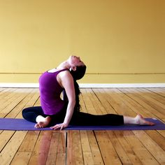 3 Must-Do Yoga Poses For Tight Hips:: always good for the piriformis muscle cramps