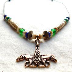 Wikinger Halskette Araton Thorshammer Bronze von BelanasSchatzkiste