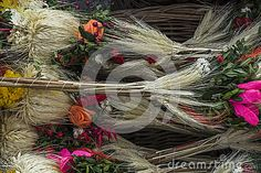 Photo about Traditional Easter palms on main market , Easter fair in Krakow. Image of composition, flower, catholic - 90396545 Krakow Poland, Easter Traditions, Palms, Grapevine Wreath, Grape Vines, Christmas Wreaths, Stock Photos, Traditional, Holiday Decor