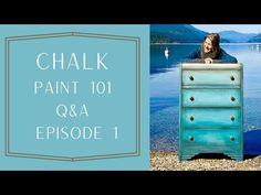 Chalk Paint 101 Questions et réponses: Épisode 1 - YouTube Dining Hutch, Boy Dresser, Blue Painted Furniture, Tall Boys, Annie Sloan Chalk Paint, Best Youtubers, Chair Fabric, Wood Planks, 1