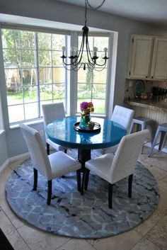 Round Kitchen Table Rugs