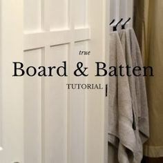 True board and batten a tutorial on installing moulding on textured walls. Get that craftsman or farm house style in your own home. Picture Frame Wreath, Picture Frames, Wood Pallet Signs, Wood Pallets, Purple Couch, Painted Jars, Board And Batten, Home Signs, Textured Walls