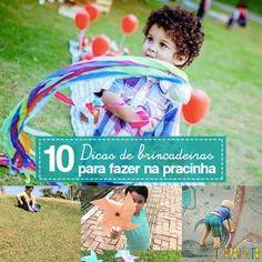 Uma lista maravilhosa de brincadeiras para fazer na pracinha com crianças de todas as idades.