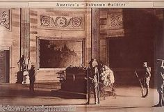 WWI UNKNOWN SOLDIER MEMORIAL DAY CASKET ANTIQUE NEWS PHOTO POSTER PRINT 1921