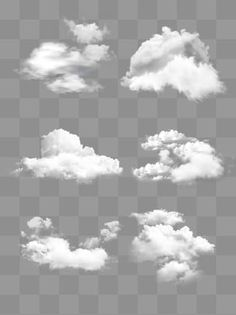 Physical White Cloud Fluffy Decoration Material Design White Clouds Simulation Simple Png Transparent Clipart Image And Psd File For Free Download Clouds Watercolor Flower Illustration Cartoon Clouds