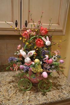 Easter Arrangement | Kristen's Creations