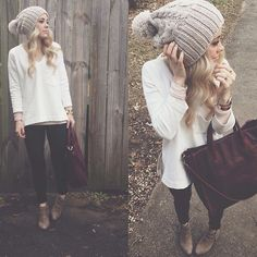 Minus the bag and I would make the top grey or maroon