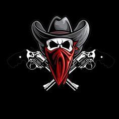 My custom outlaw logo.