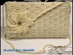 """♡ [Tutorial Uncinetto #15] Pochette """"Shellina""""   Maglia bassa in costa   Crochet ♡ - YouTube"""