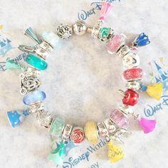 d4a05e842 Pandora Disney Princess Charms